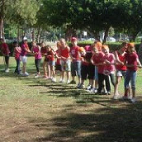 פעילות סוף שנה לילדי ביס לאומנויות גני יהושוע
